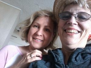 Diane and Sarah